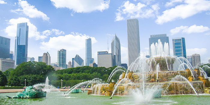 Buckingham Fountain at Grant Park