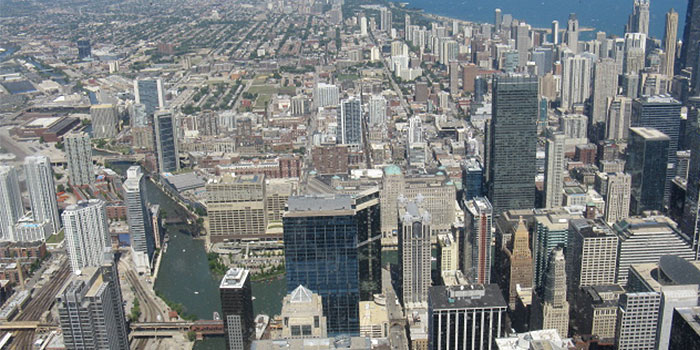 View from SkyDeck Willis Tower