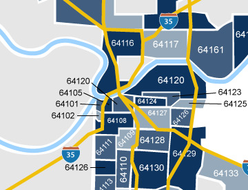 Kansas City Zip Codes